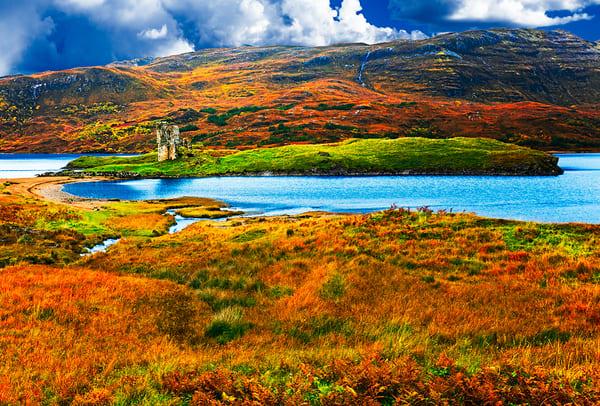 Ardvreck Castle - Scotland Art Print, Christopher Gatelock