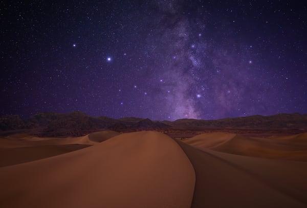 Sand Dune Cosmos Photography Art   Josh Kimball Photography