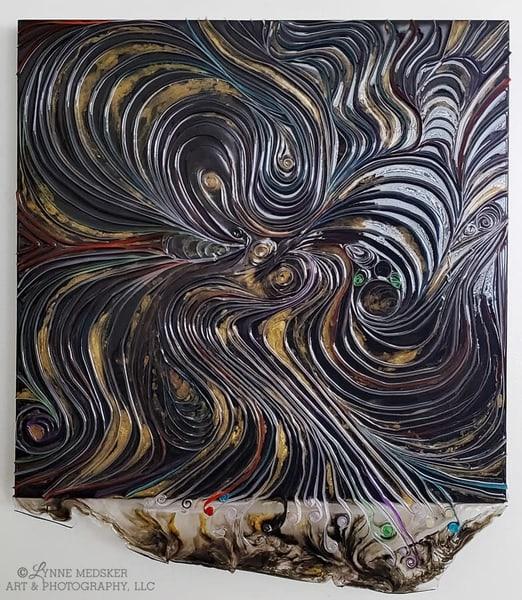 Original Art   Slowly Twirling Out Of Control | Lynne Medsker Art & Photography, LLC