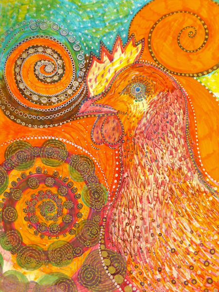 Rooster Art | Cynthia Christensen Art