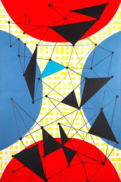 Transmissions I Art | Romanova Art