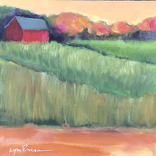 Red Barn Art | lynnericson-fine-art.com
