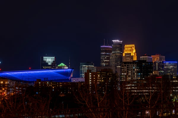 East River Parkway View Of Minneapolis Photography Art   William Drew Photography