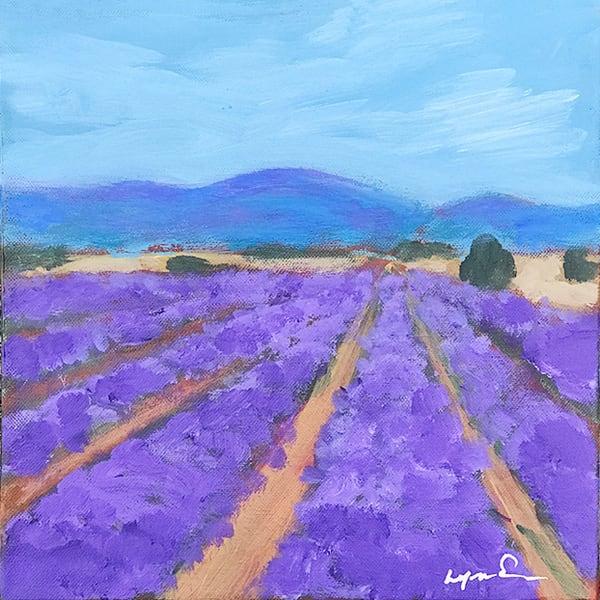 Lavender Art | lynnericson-fine-art.com