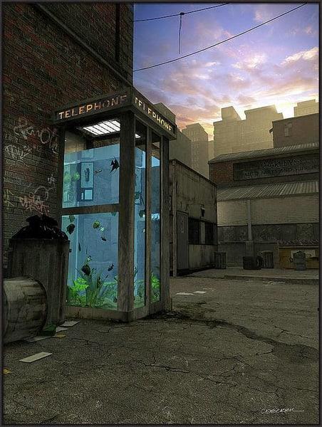 Artist Choice Phone Booth