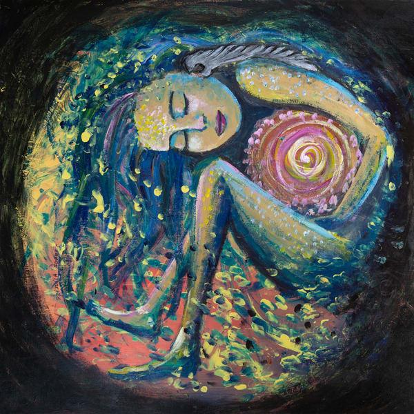 A New Beginning.  Original Art | Priscila Soares - MyLuckyEars