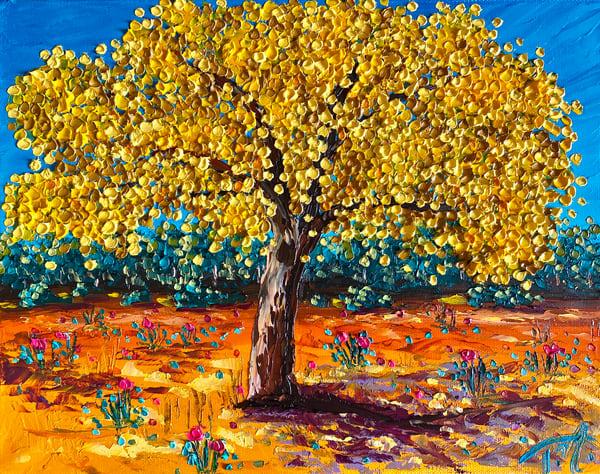 Swing Low, Sweet Yellow Art   Tessa Nicole Art