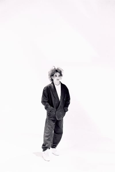Robert Smith of The Cure in the In Between Days video
