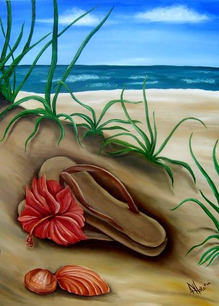 Hoke Shoes Optional 8x12 Art | Friday Harbor Atelier