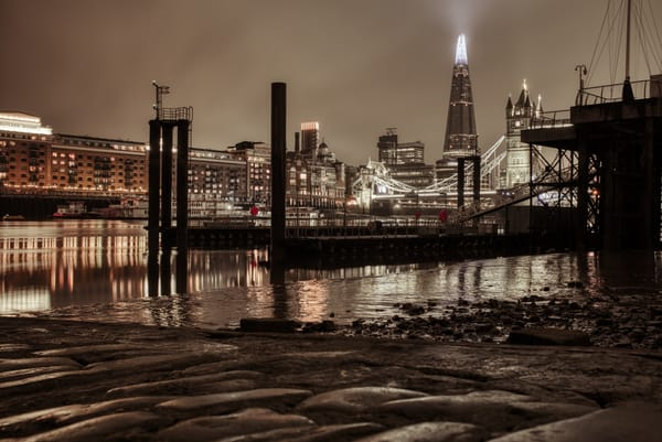Cobbles At The Bottom Of The Thames Art | Martin Geddes Photography