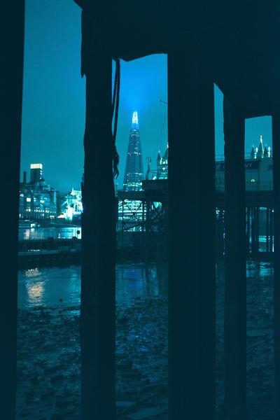 Shard In Blue Art | Martin Geddes Photography