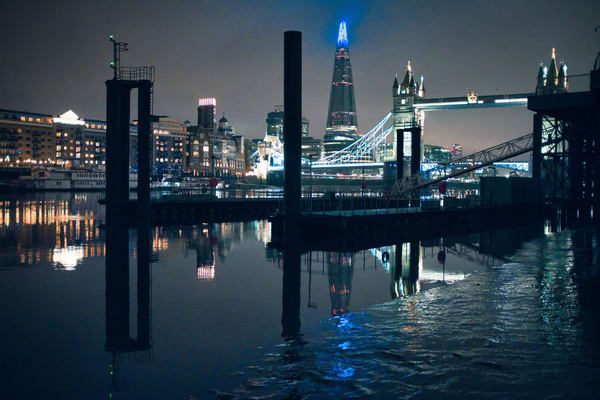 Low Tide At Tower Bridge Art | Martin Geddes Photography