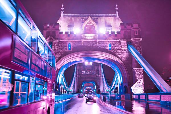 Tower Bridge (As Not Seen By Tourists) Art | Martin Geddes Photography