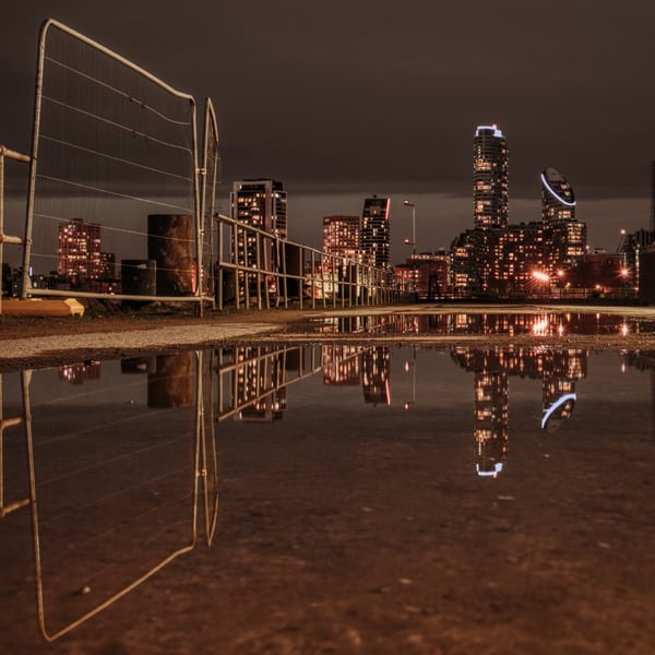 Fair And Square Puddle Art | Martin Geddes Photography
