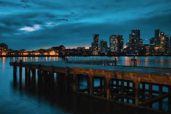 Greenwich Glow And Gloaming Art | Martin Geddes Photography