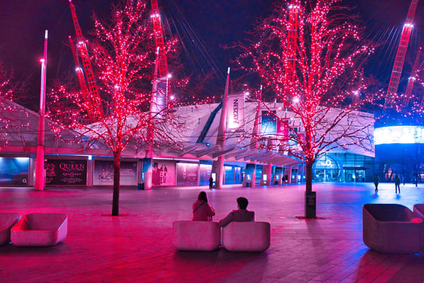 Neon At The O2 Art | Martin Geddes Photography