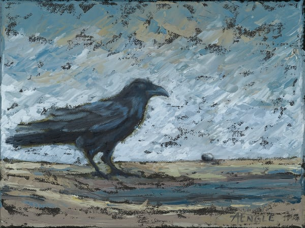 The Raven And The Pebble Art | Friday Harbor Atelier