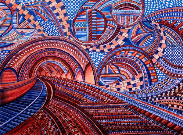 Subway Maze Of Patterns   lencicio