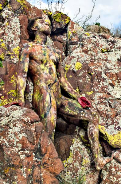 2019 Lichen Stone Colorado Art | BODYPAINTOGRAPHY