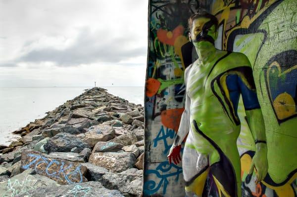 2019 Graffiti Pier California Art | BODYPAINTOGRAPHY