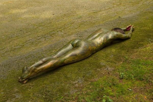 2019  Driveway Moss  Massachussetts Art | BODYPAINTOGRAPHY