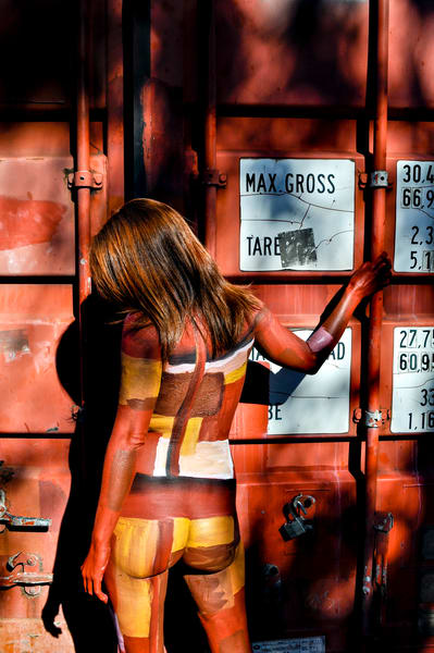 2009 Container Australia Art | BODYPAINTOGRAPHY