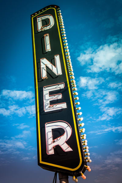 Diner Photography Art | Scott Krycia Photography