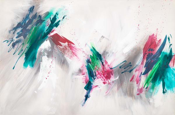 Coloring Outside The Lines (Original) Art | Jen Sterling LLC
