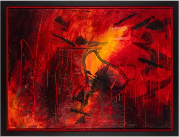 Turmoil (Original) Art | Jen Sterling LLC