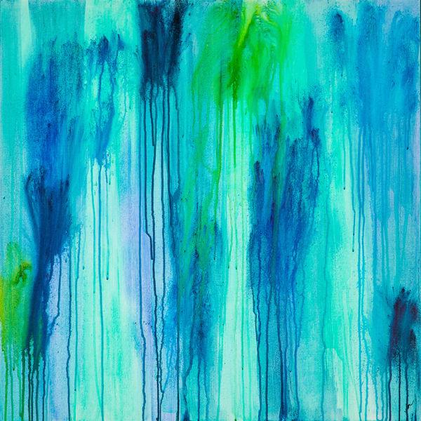 Ocean Rain Art | Jen Sterling LLC