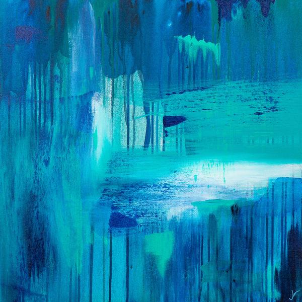 Falling Water Art | Jen Sterling LLC