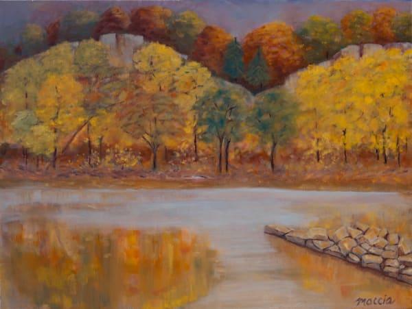 Autumn On The Missouri River Art | Wild Ponies creations