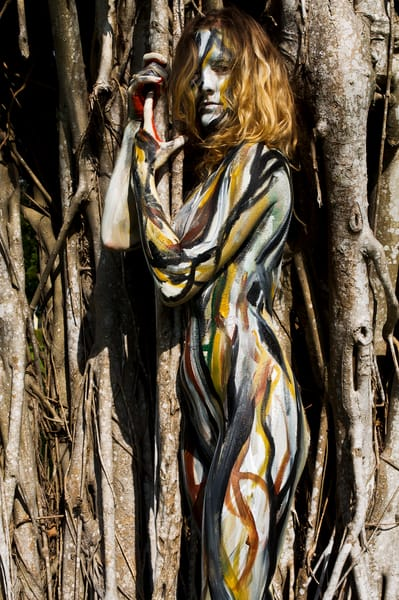 2010 Banyan Tree Florida Art | BODYPAINTOGRAPHY