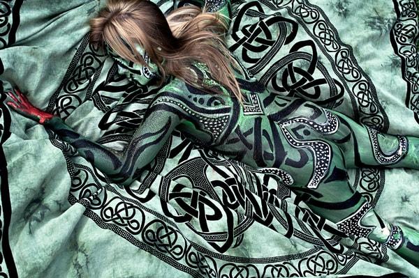 2010 Celtic Tapestry Florida Art | BODYPAINTOGRAPHY