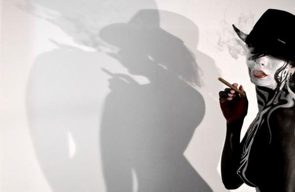 2010 Cigar Smoke Switzerland Art | BODYPAINTOGRAPHY