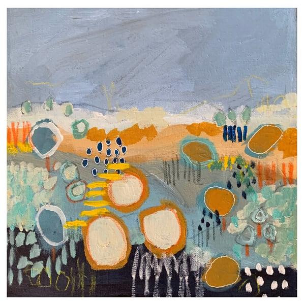 Blue Meadow I Iv Art | Julie Brown Art