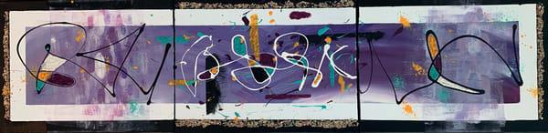 Purple Abstract Art | Courtney Einhorn