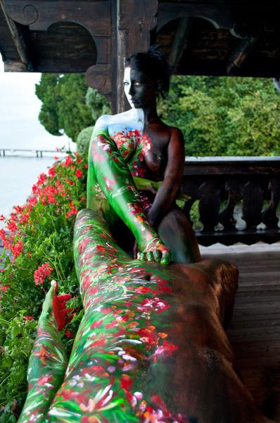 2011  Balcony  Switzerland Art | BODYPAINTOGRAPHY