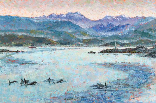 Heading To The Elwha   Art | Friday Harbor Atelier