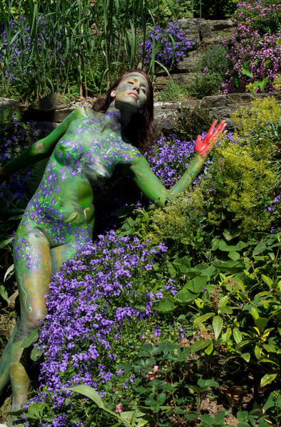 2011 Flower Garden Germany Art | BODYPAINTOGRAPHY