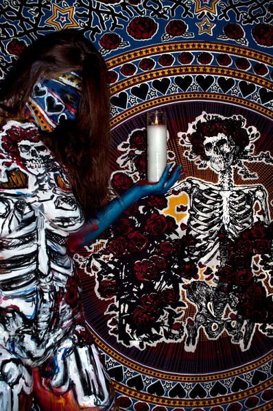 2011 Grateful Dead Florida Art | BODYPAINTOGRAPHY