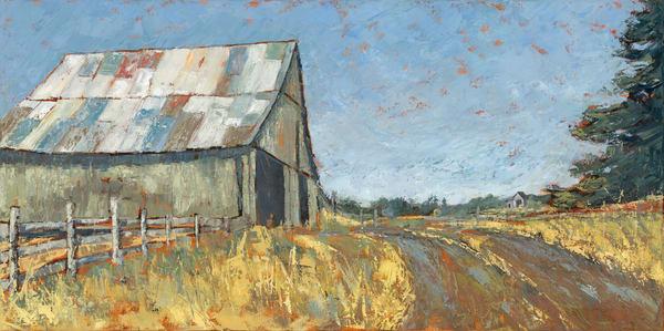 The Barn At Red Mill Farm  Art | Friday Harbor Atelier