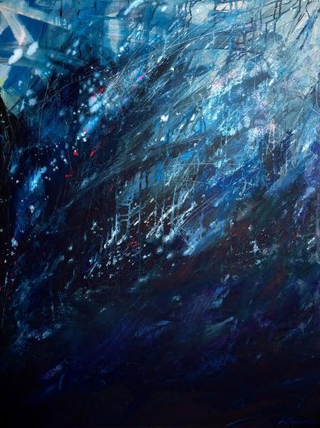 Storm Torrent, Original Painting Art   Jessica Hughes Fine Art