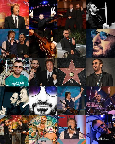 The Beatles, Paul McCartney, Ringo Starr, Rob Shanahan