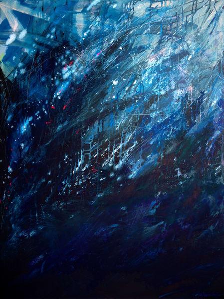 Storm Torrent Art | Jessica Hughes Fine Art