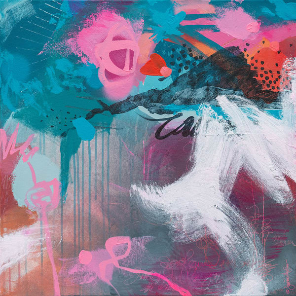 May You Find Courage Art   Jessica Hughes Fine Art
