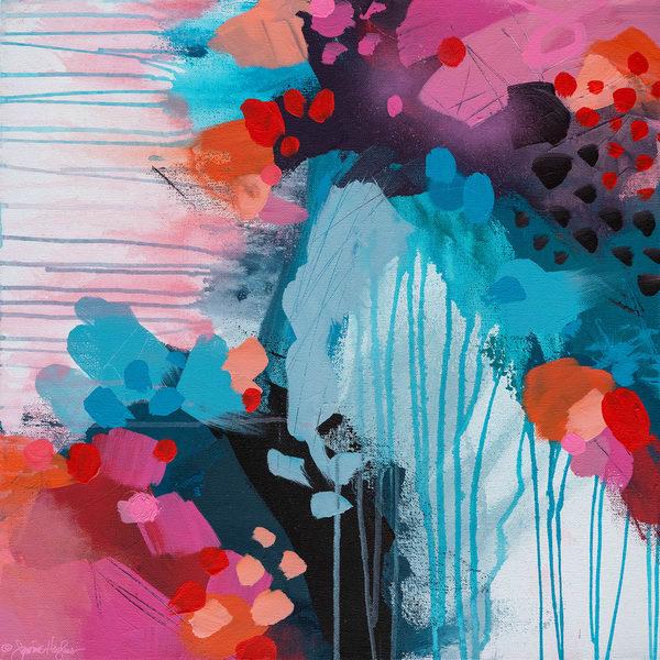 Love Boldy, Original Painting Art   Jessica Hughes Fine Art
