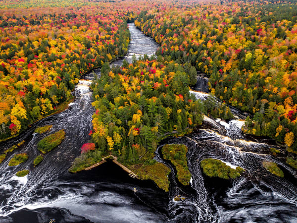 Lower Tahquamenon Falls in Michigan's Upper Peninsula
