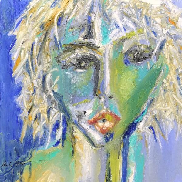 Bad Hair Day/One Way Or Another Diva Deborah Harry Art | merlynbost