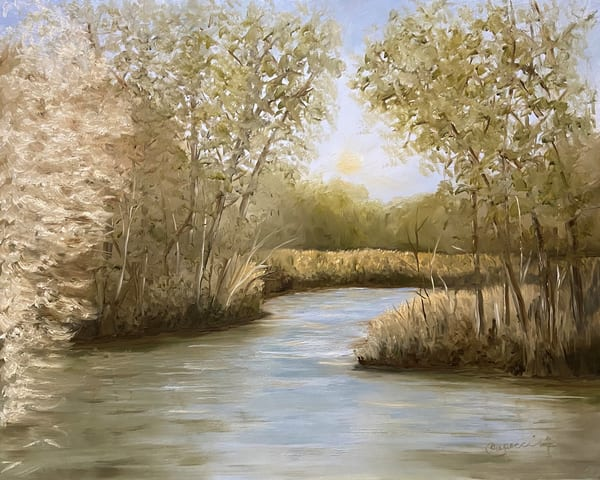 Creek Morning Art | Mid-AtlanticArtists.com